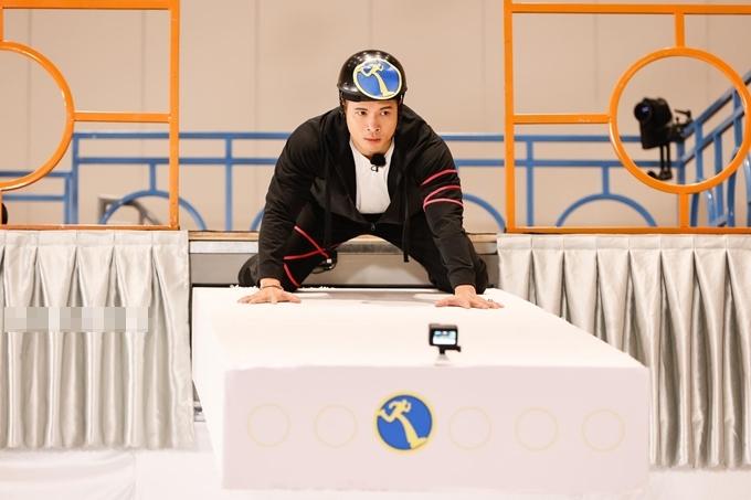 Trương Thế Vinh trong tập 1 Running Man mùa 2.