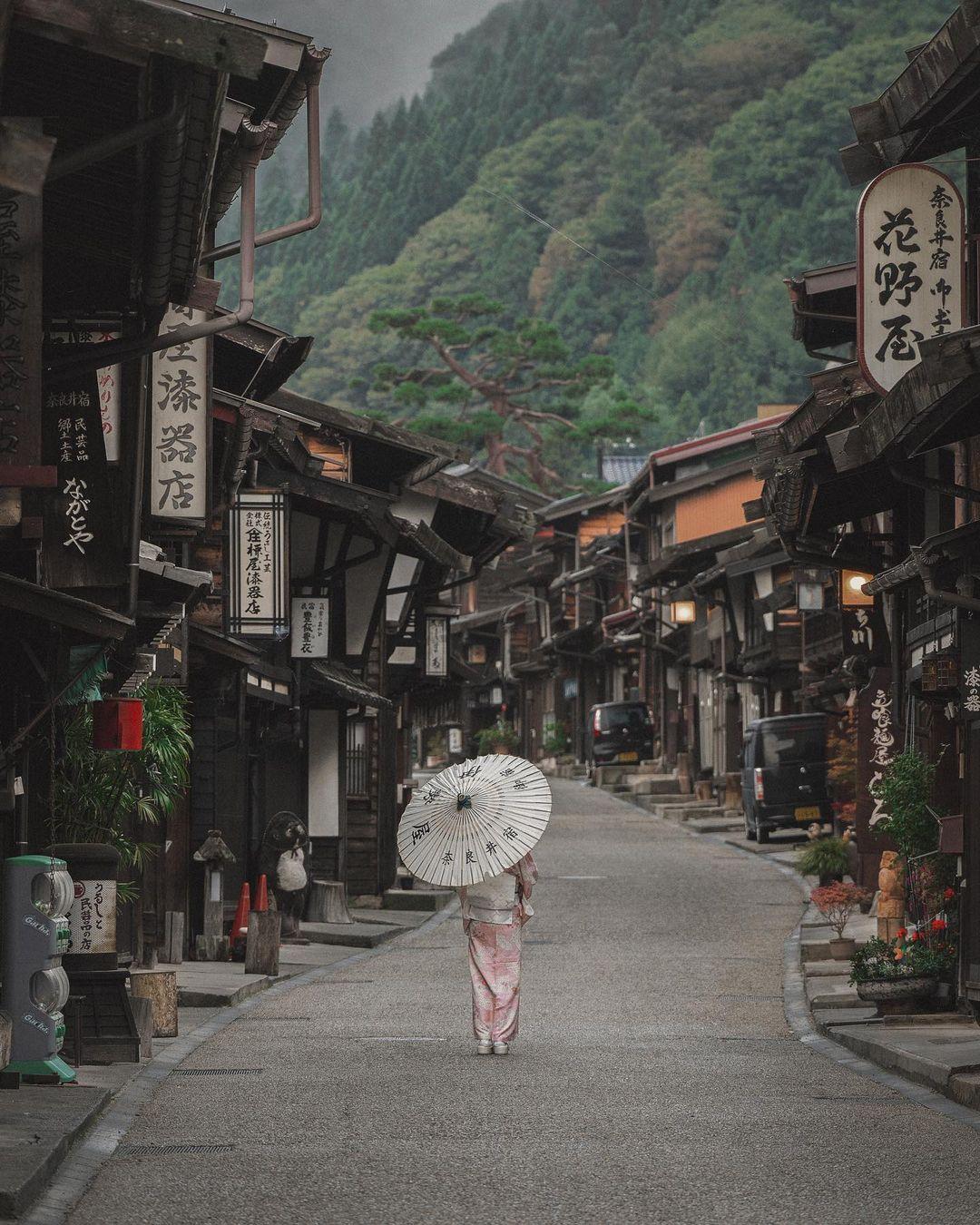 Thời gian như ngừng trôi trong làng cổ ở Nhật Bản - 1