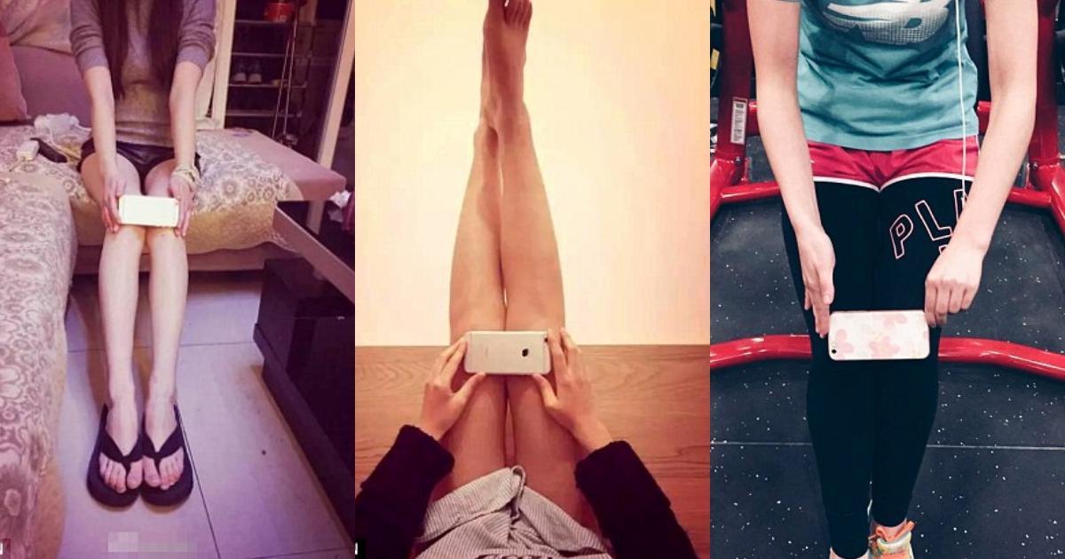 Sau trào lưu này, giới trẻ Trung Quốc thi nhau đo đầu gối bằng iPhone 6. Người tham gia sẽ chụm hai đầu gối và đặt chiếc iPhone 6 (dài 13,8 cm) theo chiều ngang. Nếu hai đầu gối bị màn hình điện thoại che khuất, điều đó có nghĩa người này sở hữu đôi chân thon gọn.