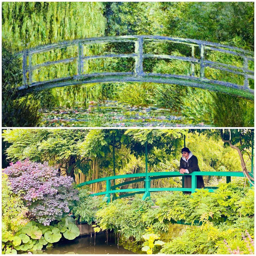 Là fan trung thành của danh hoạ Monet, Châu Kiệt Luân dành phần nhiều thời gian để tham quan triển lãm tranh, cũng như tìm đến những địa danh gắn liền với tên tuổi của ông.