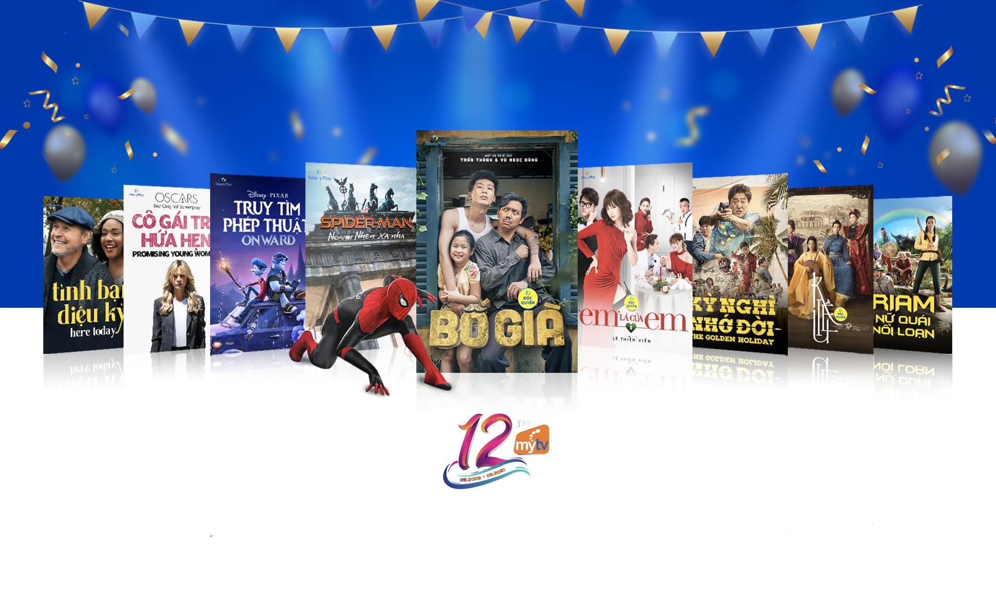 Món quà tinh thần dành cho khán giả MyTV nhân dịp sinh nhật 12 tuổi.