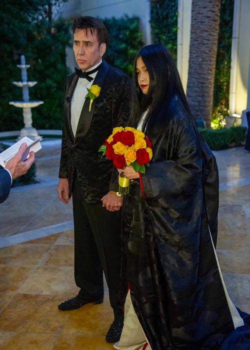 Nicolas Cage mới cưới vợ thứ năm hồi tháng 2.