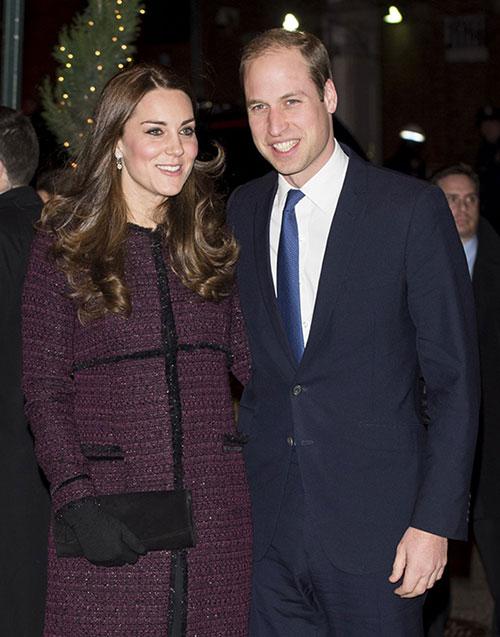 [William và Kate ở khách sạn Carlyle, New York vào năm 2014. Ảnh: PA
