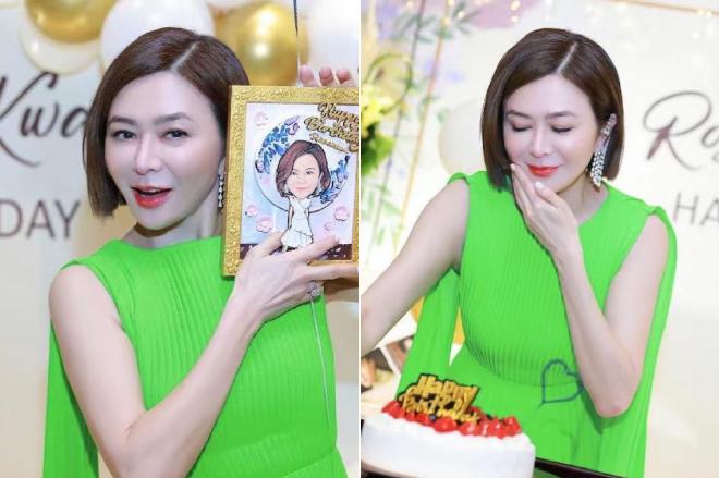 Diễn viên Quan Chi Lâm tổ chức tiệc mừng tuổi 59.