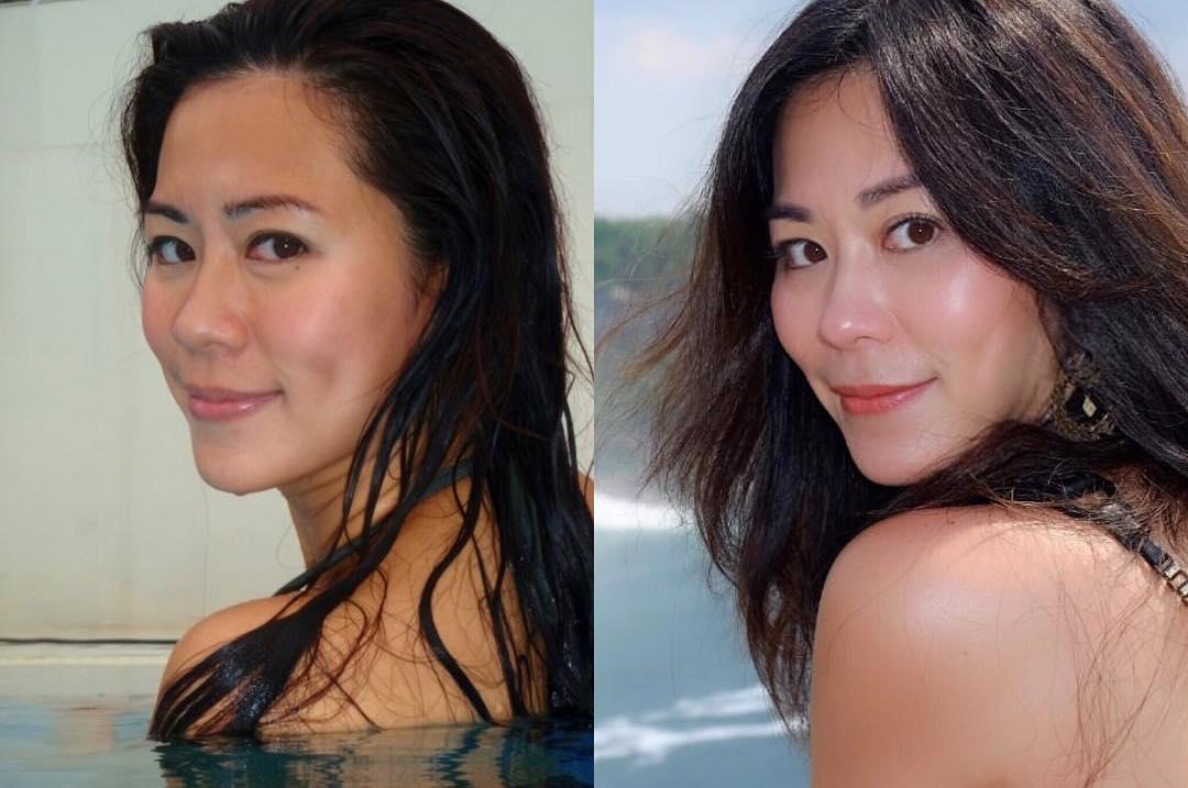 Michelle Chia chia sẻ sự thay đổi ngoại hình sau 10 năm.