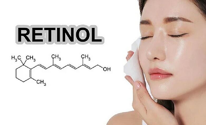 Retinol là thành phần chống lão hóa được chuyên gia da liễu khuyên dùng.