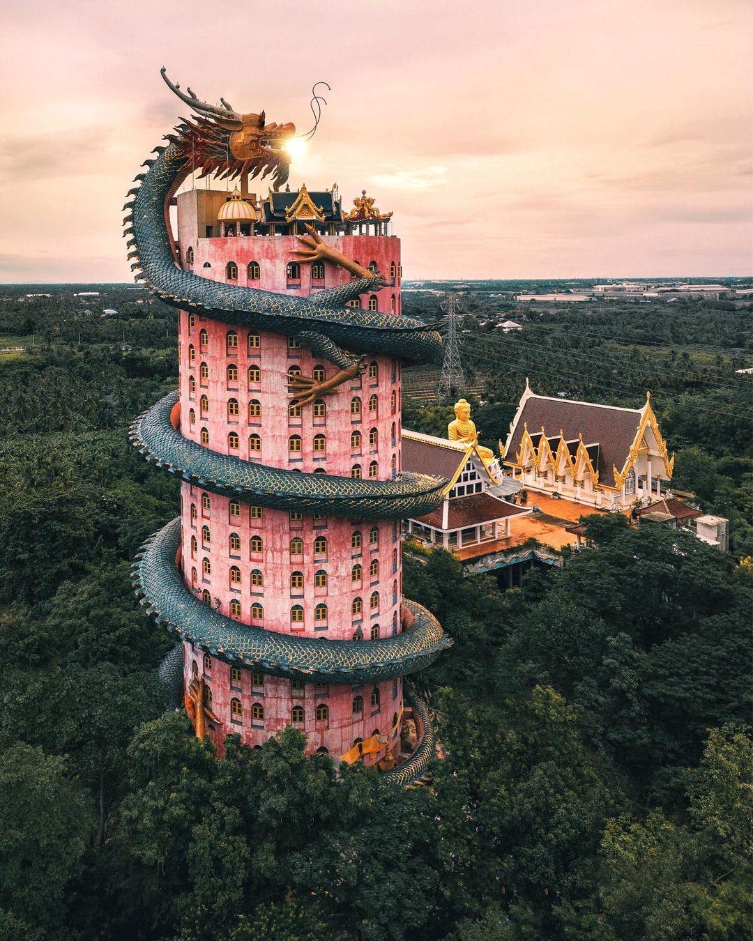 7 ngôi đền có kiến trúc độc đáo ở Thái Lan