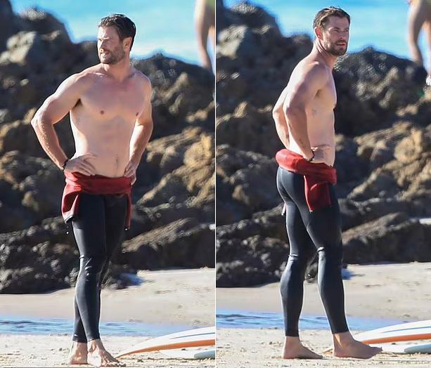 Nhiều lần phải tăng cân hoặc giảm cân vì vai diễn nhưng sau đó Chris lại luyện tập để lấy lại body cũ.