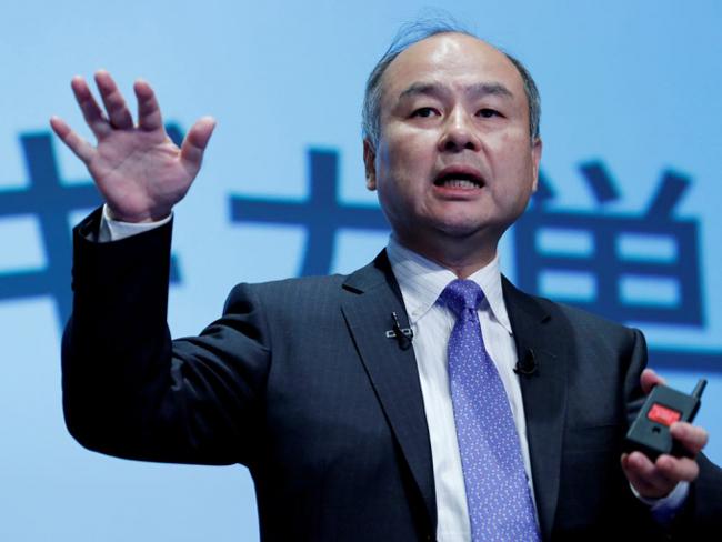 Tỷ phú Masayoshi Son - Chủ tịch kiêm CEO SoftBank. Ảnh: Reuters