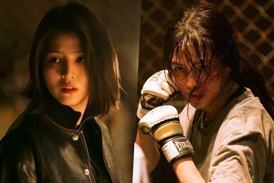 Tạo hình của Han So Hee trong phim My Name.