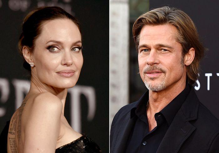 Angelina Jolie và Brad Pitt. Ảnh: AP