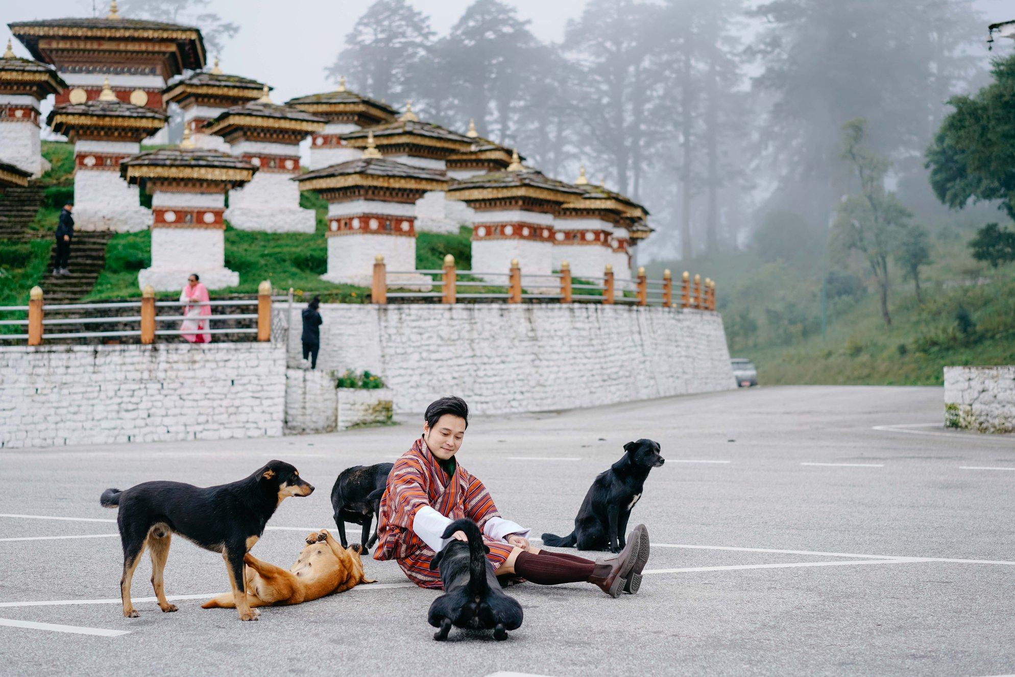 Bhutan là quốc gia Quang Vinh thích nhất.