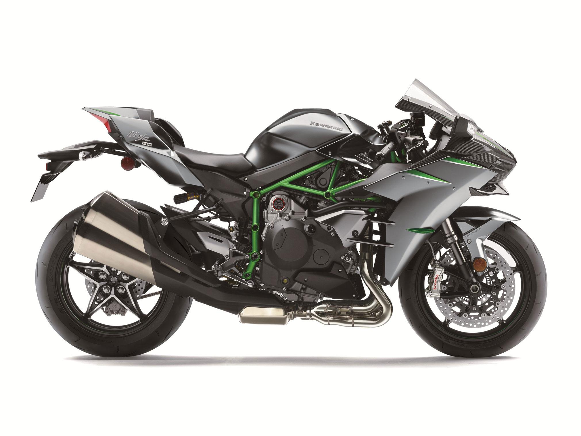 Kawasaki Ninja H2 Carbon. Ảnh: Kawasaki
