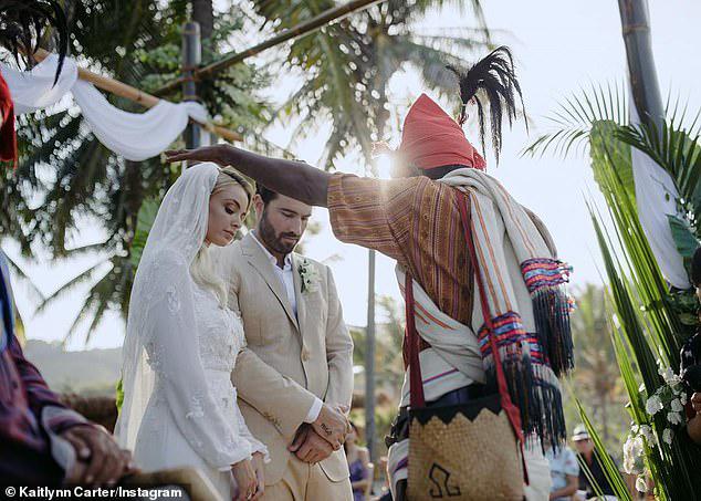 Kaitlynn kết hôn với Brody Jenner - con trai ngôi sao chuyển giới Caitlynn Jenner - ở Indonesia.