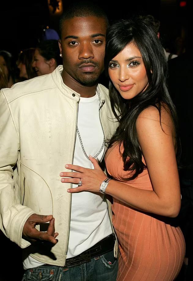 Kim và rapper Ray J. Ảnh: Wire