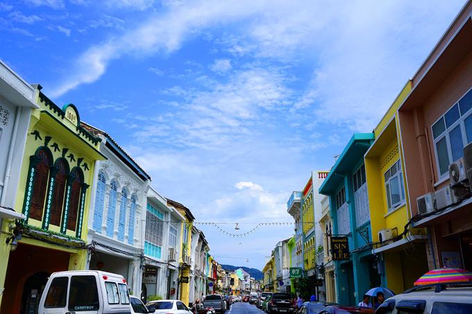 Phổ cổ ở Phuket. Ảnh: Minh Phạm