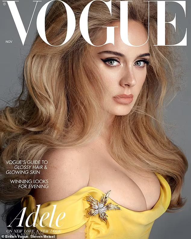 Adele xuất hiện lộng lẫy trên tạp chí Vogue.