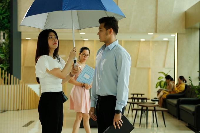 Vợ chồng diễn viên Anh Tài - Vũ Ngọc Ánh đóng chung sitcom Văn phòng đại chiến.