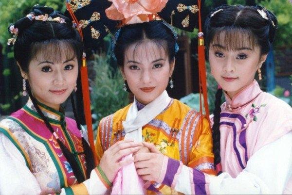 Ba nàng cách cách của Hoàn Châu cách cách từng vang danh một thời.
