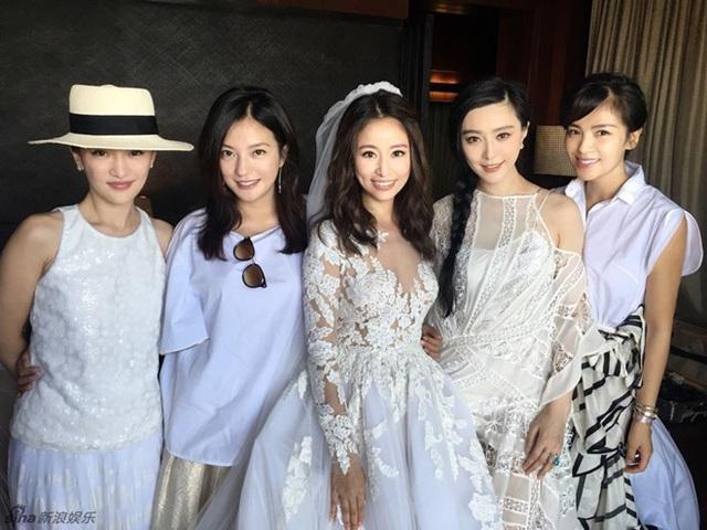 Đám cưới Lâm Tâm Như, Triệu Vy hiện diện.