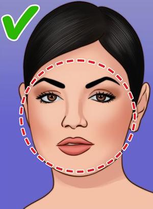 Chọn dáng lông mày theo khuôn mặt