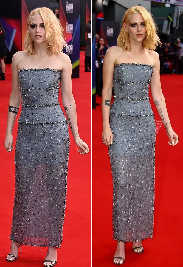 Thiết kế tôn lên vòng eo thon thả và vóc dáng mảnh mai của nữ diễn viên 31 tuổi.