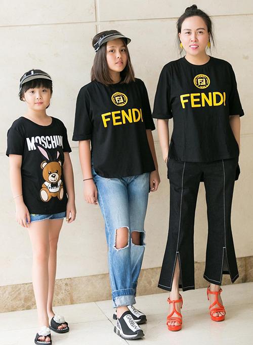 Phượng Chanel có hai con gái tên ở nhà là Susu và Suri. Con gái lớn Susu tên thật là Mỹ Uyên, năm nay 18 tuổi. Mỹ Uyên theo đuổi phong cách khỏe khoắn với trang phục áo phông, quần jeans là chủ đạo.