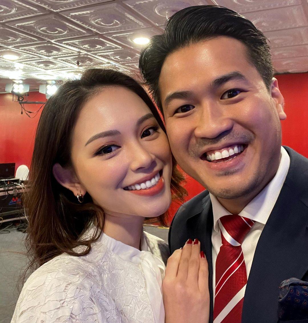 Hot girl Linh Rin và bạn trai - doanh nhân Phillip Nguyễn.