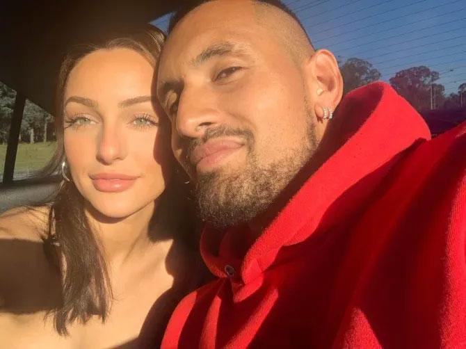 Nick Kyrgios và bạn gái