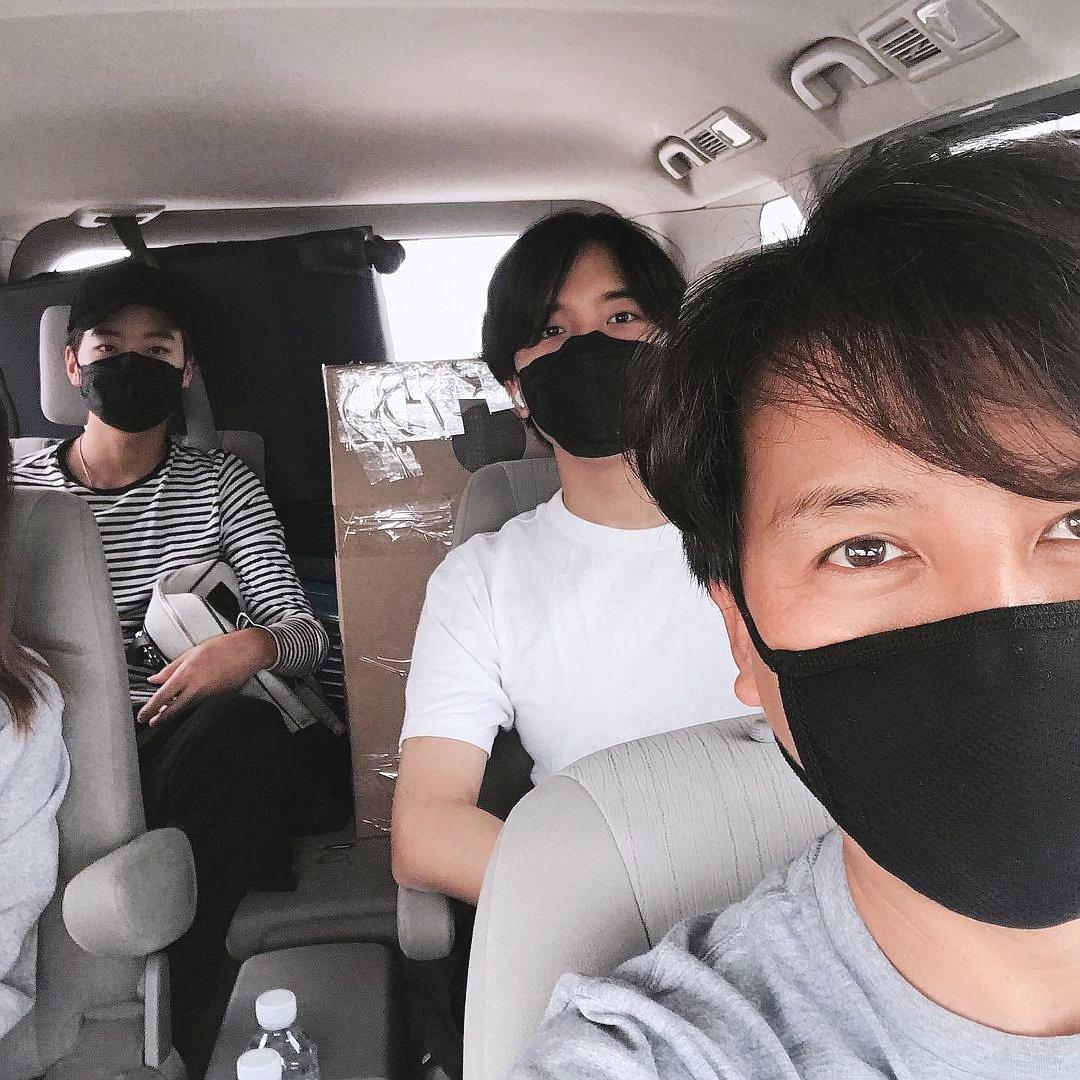 Gia đình Son Ji Chang về Hàn Quốc năm 2020, sau thời gian ở Mỹ.