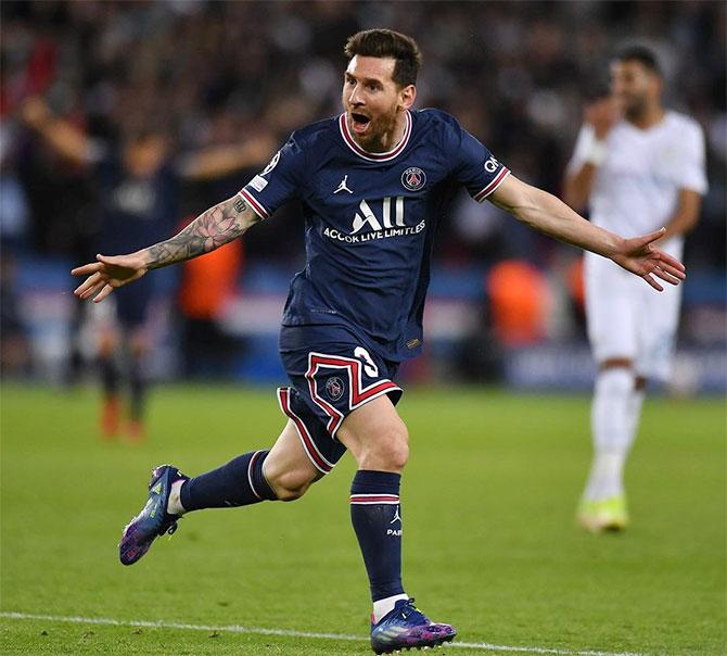 Messi đã có một bàn thắng cho PSG tại Champions League. Ảnh: Instagram Messi