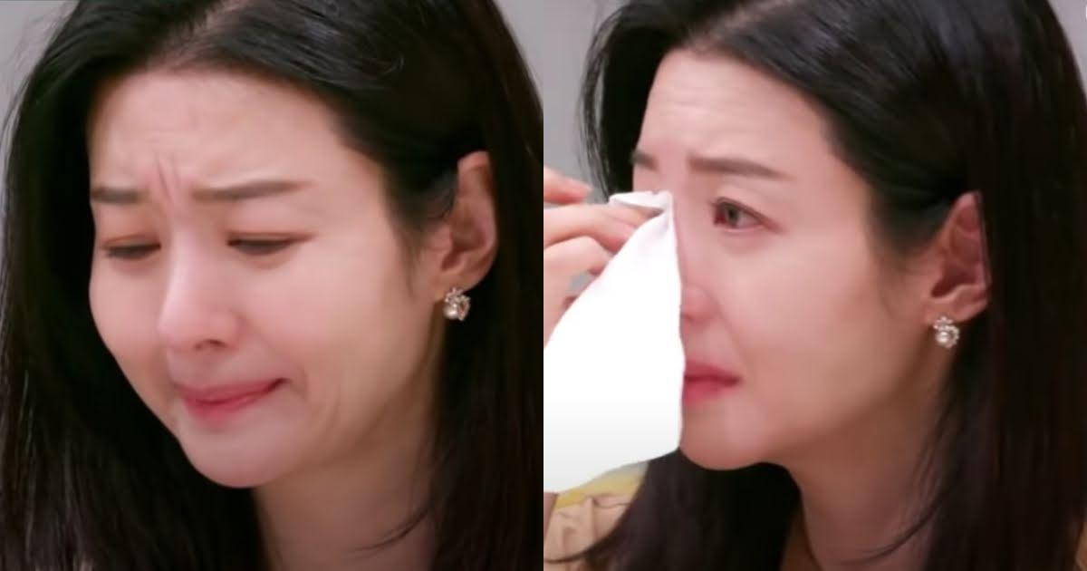 Song Sun Mi khóc khi nói về nỗi đau vợ mất chồng, con mất bố.