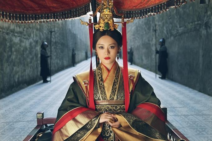 Tôn Lệ trong phim Mị Nguyệt truyện. Ảnh: Sina