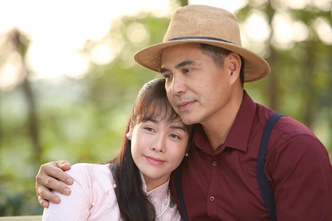 Nhật Kim Anh lần đầu đóng cặp Trung Dũng trong phim Lưới trời.