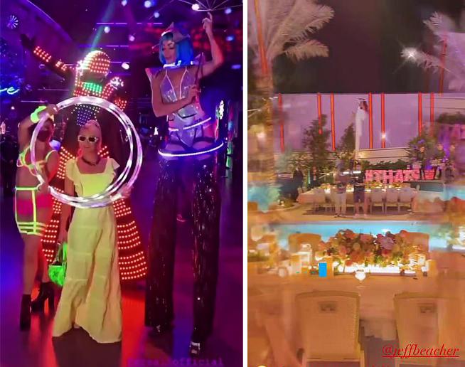 Paris Hilton mở tiệc chia tay thời độc thân - 1