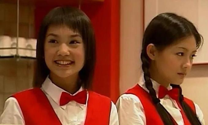 Dương Thừa Lâm (trái) lần đầu đóng phim năm 16 tuổi, vào vai bạn thân của Từ Hy Viên. Ảnh: KK News