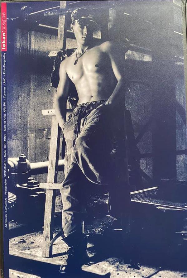 Siêu mẫu Bình Minh chia sẻ ảnh thời còn làm người mẫu ảnh. Hiện anh có cuộc sống gia đình hạnh phúc bên bà xã Anh Thơ và hai con gái.