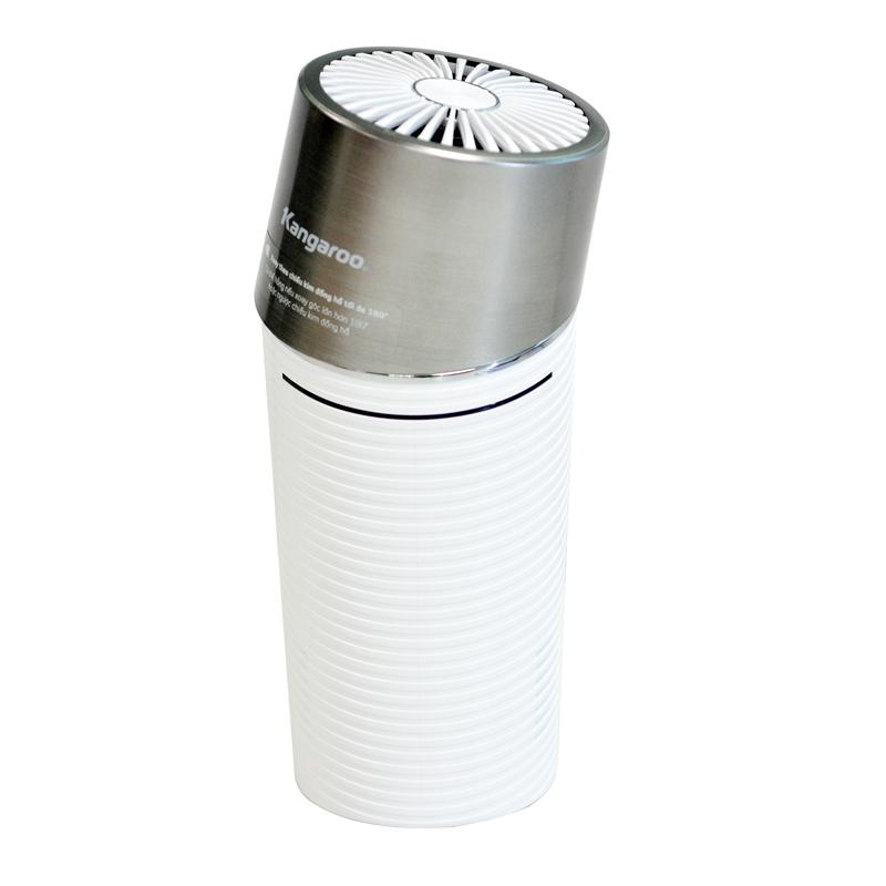 Máy lọc không khí ôtô Kangaroo KGAP2 giảm còn 900.000 đồng (giá gốc 3,465 triệu đồng); có thiết kế màng lọc E2F (electret film filter), có thể lọc được bụi mịn, khử mùi, lọc khí. Màng lọc E2F giúp máy lọc không khí hỗ trợ thu giữ những tác nhân gây hại trong không khí như chất gây dị ứng, hợp chất dễ bay hơi TVOC, vi khuẩn, nấm mốc.