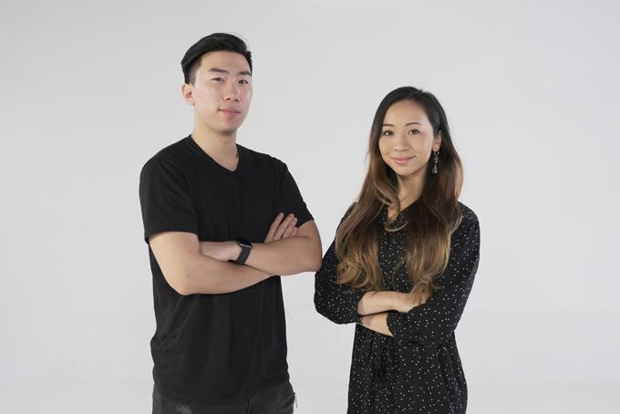 Hai nhà đồng sáng lập Fika Denise Sandquist (phải) và Oscar Xing Luo. Ảnh: Fika