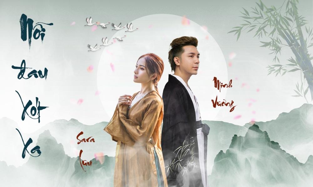 Hình ảnh quảng bá sản phẩm của Sara Lưu và Minh Vương 4U.
