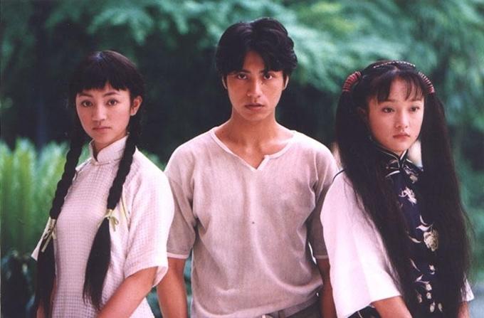 Châu Tấn vướng vào mối tình tay bay với Trần Khôn và La Hải Quỳnh. Ảnh: IMDb