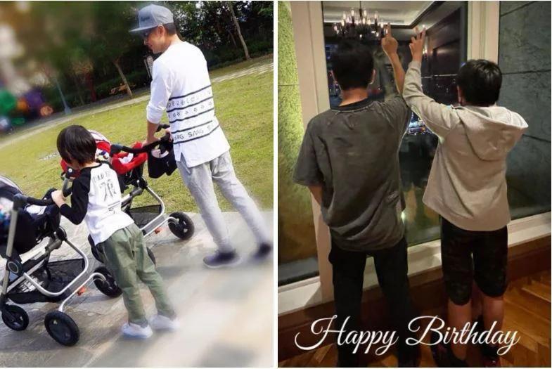 Cậu nhóc Kimi bên bố ngày ấy, bây giờ.