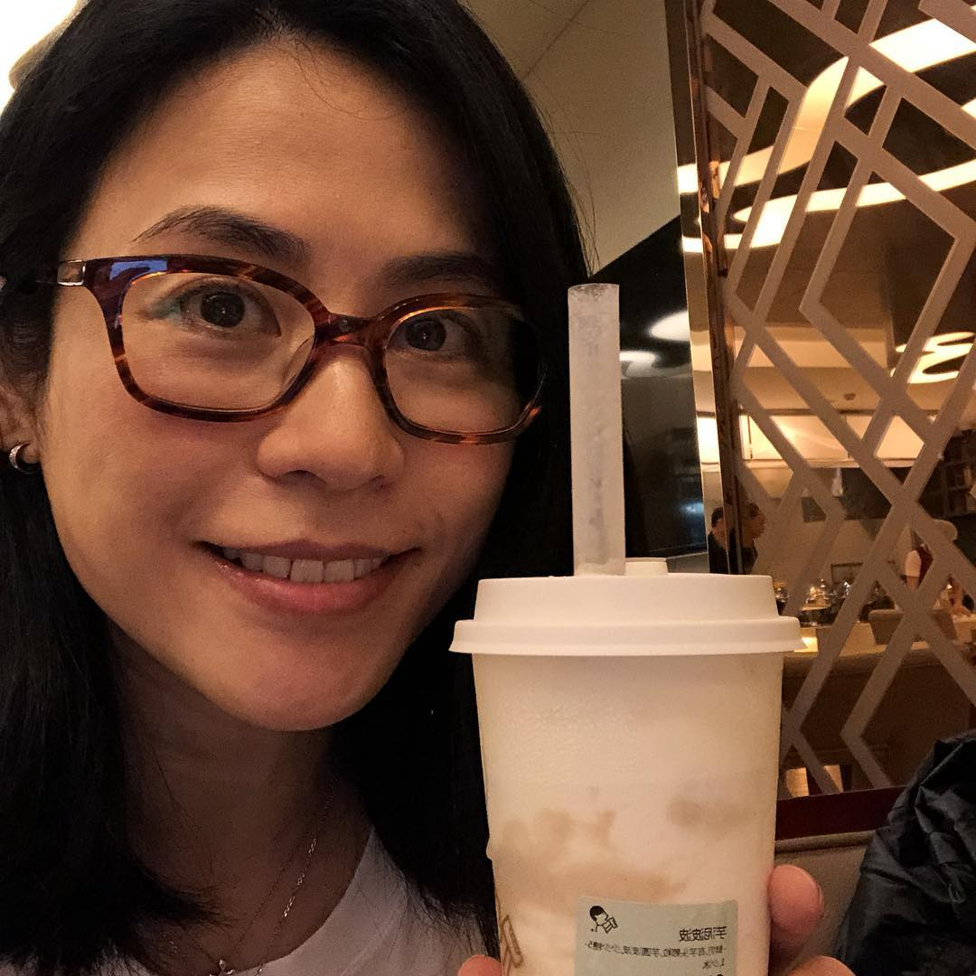 [Caption] mê hey tea trà sữa uống suốt ngày
