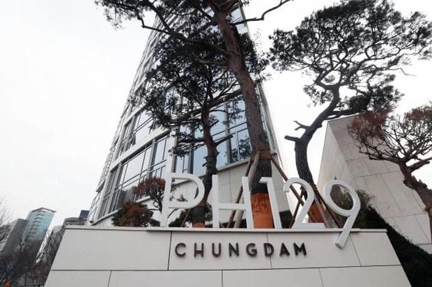 Tòa nhà thuộc vị trí đắc địa tại Seoul.