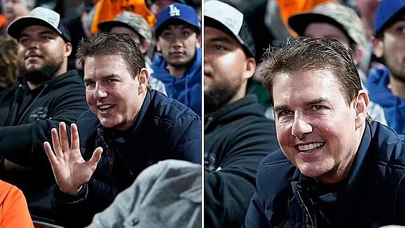 Tom Cruise gây xôn xao vì gương mặt căng phồng