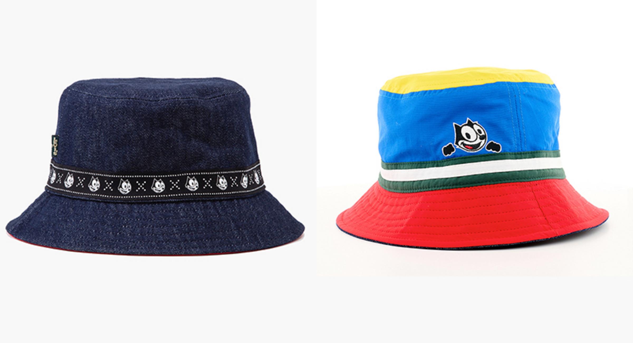 Bộ sưu tập còn tạo sức hút với dòng mũ nón Campus Bucket hai mặt đầy màu sắc, đậm nét Felix, góp phần tạo thêm điểm nhấn cho trang phục.