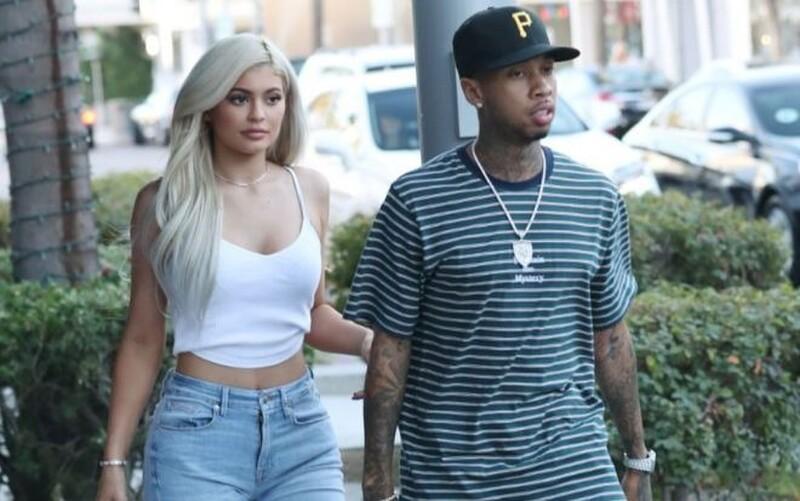 Kylie Jener và Tyga thời còn hẹn hò. Ảnh: Backgrid