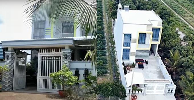 Nhà của Hoài Lâm tại Vĩnh Long.