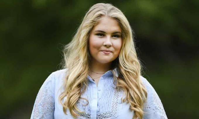 Công chúa kế vị Catharina-Amalia của Hà Lan. Ảnh: AP