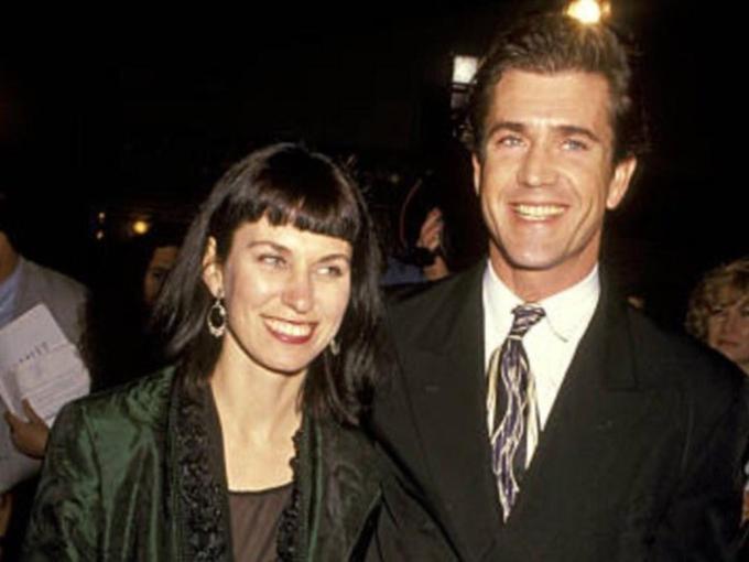 Mel Gibson và Robyn Moore. Ảnh: Twitter Melgibsonfilms